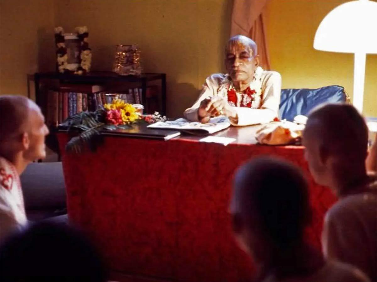 Шрила Прабхупада - Медитация 04