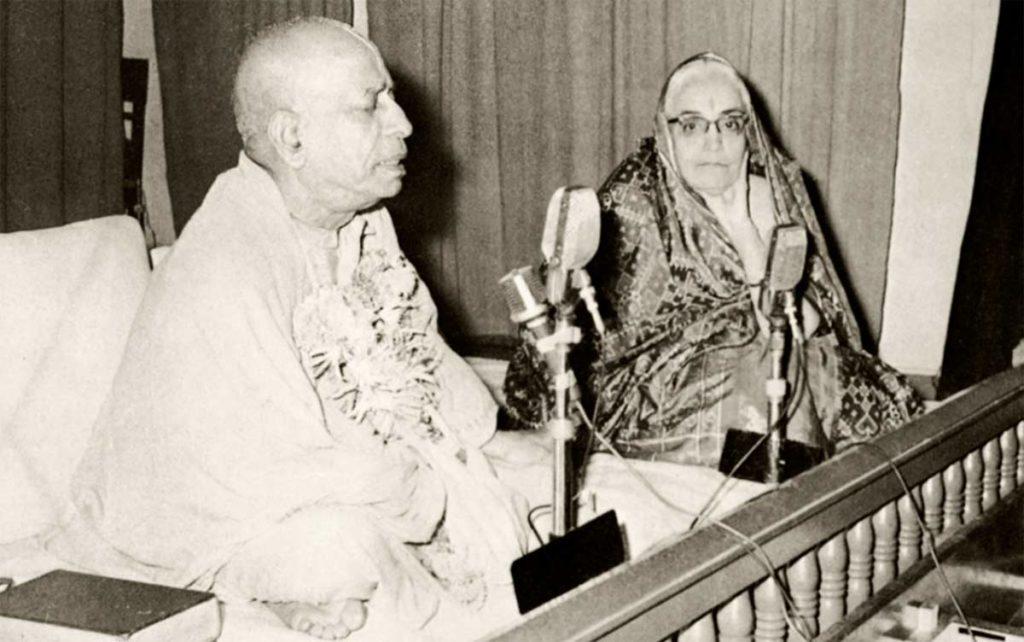 Шрила Прабхупада и Сумати Морарджи