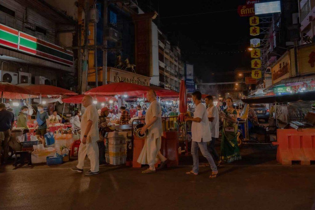 Харинама - Вечерний Чианг Май