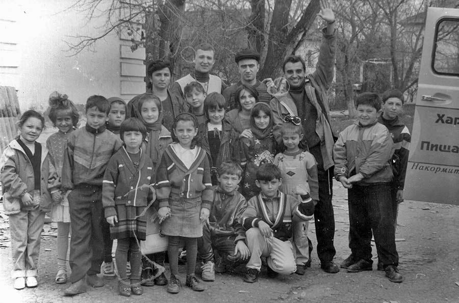 Программа Харе Кришна Пища Жизни в Чечне