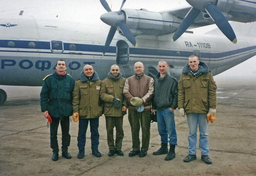 Программа Харе Кришна Пища Жизни - Отлет из Санкт-Петебурга в Чечню