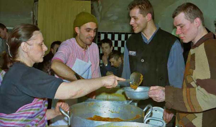 Харе Кришна Пища Жизни - Программа в Крестах