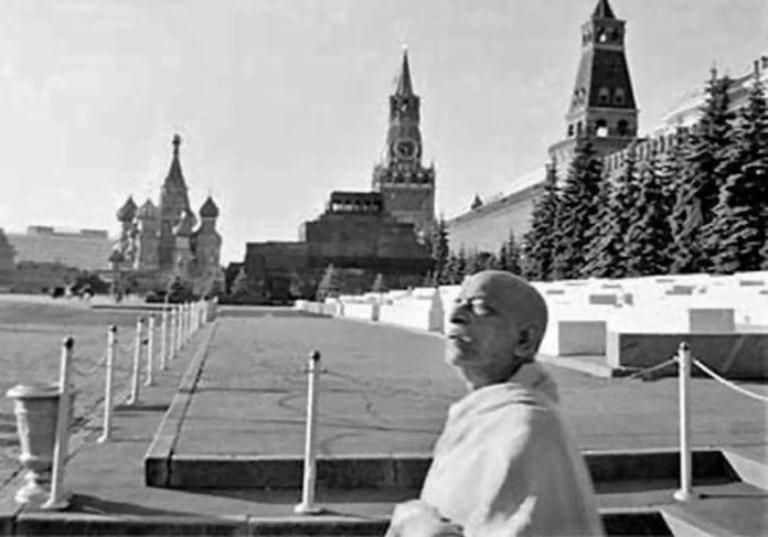 Прабхупада в Москве