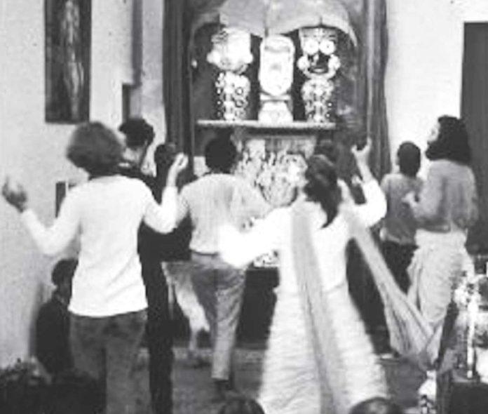 Божества Джаганнатхи, Баладевы и Субхадры в Сан-Франциско