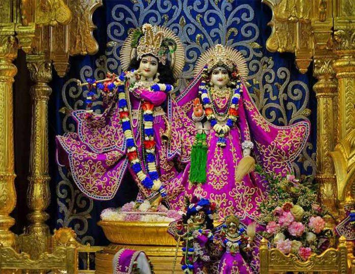 День установления Божеств Шри Шри Радха Гокулананда