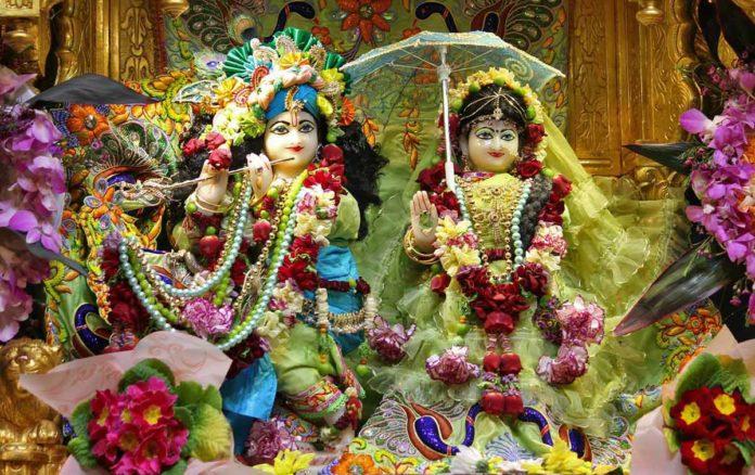 Божества Шри Шри Радха-Гопинатха в Сиднее