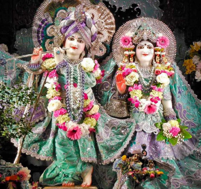 День установления Божеств Шри Шри Рукмини Двараканатха в Лос-Анджелесе